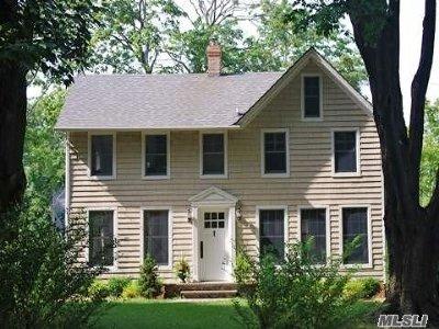 Port Jefferson Single Family Home For Sale: 311 Thompson St