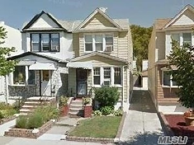 Flushing Single Family Home For Sale: 69-21 66th St