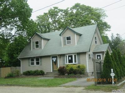 Center Moriches Single Family Home For Sale: 29 Miller Ave