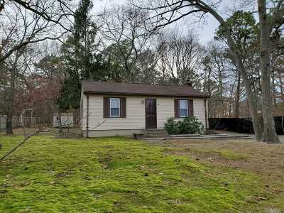 Coram Single Family Home For Sale: 12 Shady Ln