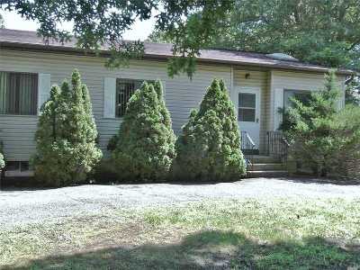 Mastic Single Family Home For Sale: 143 Madison