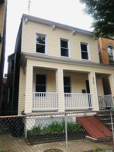 Woodhaven Single Family Home For Sale: 87-40 Woodhaven Blvd