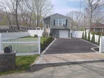 Mastic Beach Single Family Home For Sale: 21 Parkwood Dr