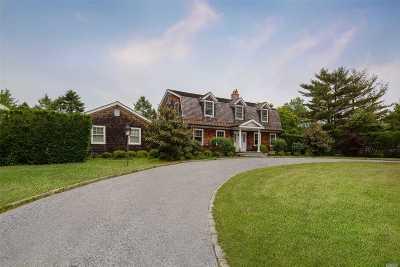 Southampton NY Single Family Home For Sale: $1,950,000