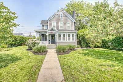 Patchogue Single Family Home For Sale: 411 S Ocean Ave