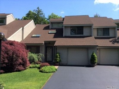 East Islip Condo/Townhouse For Sale: 2 Rose Ct