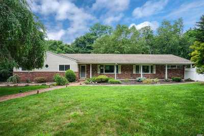 Smithtown Single Family Home For Sale: 3 Five Acre Ct
