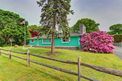 Mastic Beach Single Family Home For Sale: 42 Silver Rd