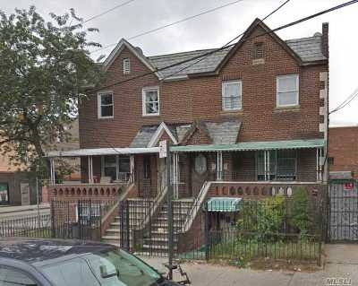 Elmhurst Multi Family Home For Sale: 91-03 Lamont Ave