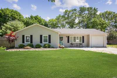 Middle Island Single Family Home For Sale: 4 Elkin Dr
