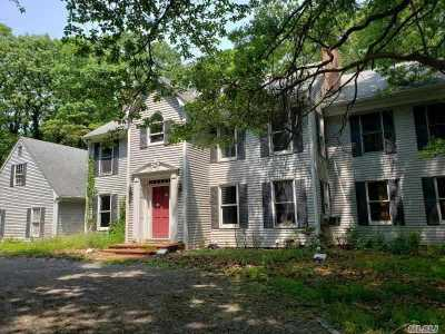 Setauket Single Family Home For Sale: 1 Woodhull Cove Ln