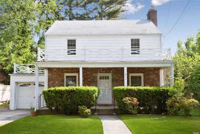 Hempstead Single Family Home For Sale: 173 Stevens Ave