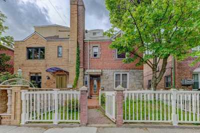 Forest Hills, Rego Park Single Family Home For Sale: 71-22 Yellowstone Blvd