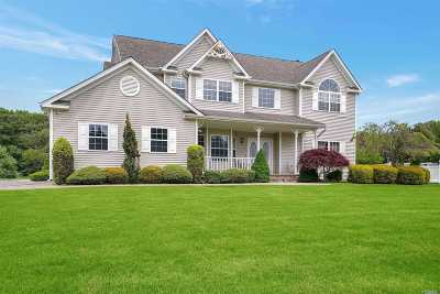 Manorville Single Family Home For Sale: 42 Ashley Cir