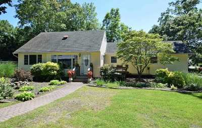Center Moriches Single Family Home For Sale: 64 Cynthia Ln