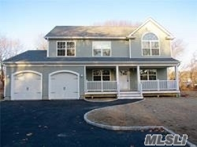 Manorville Single Family Home For Sale: 148 Weeks Ave