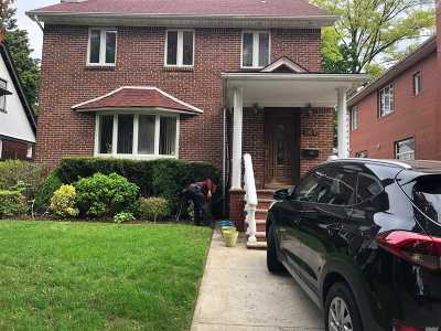 Forest Hills Single Family Home For Sale: 108-43 70 Rd