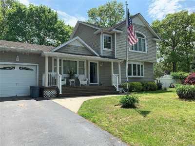 Mastic Single Family Home For Sale: 34 Hampton Ave