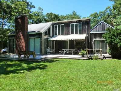 East Hampton Single Family Home For Sale: 222 Buckskill Rd
