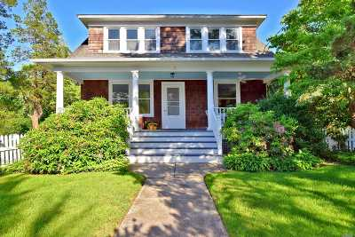 Stony Brook Single Family Home For Sale: 9 Maple Ave