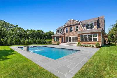 Quogue Single Family Home For Sale: 4 Lamb Ave