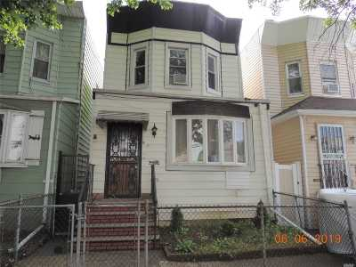Woodhaven Single Family Home For Sale: 88-43 80 St