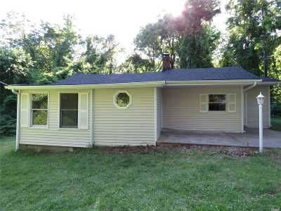Ridge Single Family Home For Sale: 37 Red Maple Rd