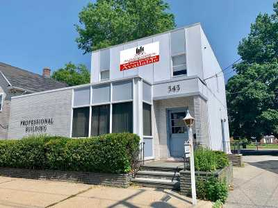 Nassau County Commercial For Sale: 343 Maple Ave
