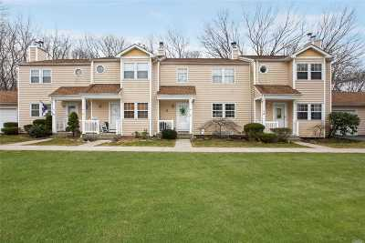 Yaphank Condo/Townhouse For Sale: 18 Hopkins Commons