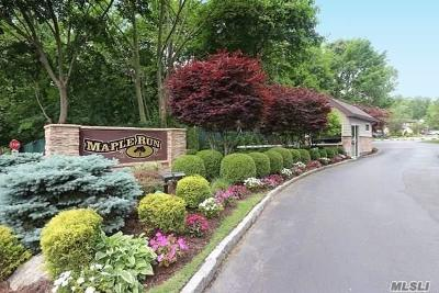 Jericho Condo/Townhouse For Sale: 23 Maple Run Dr