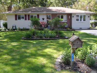 Ronkonkoma Single Family Home For Sale: 212 Springdale Dr