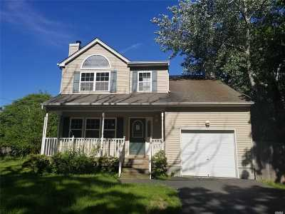 Mastic Beach Single Family Home For Sale: 86 Woodside Rd