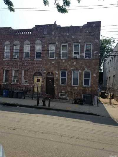 Brooklyn Multi Family Home For Sale: 794 Snediker Ave