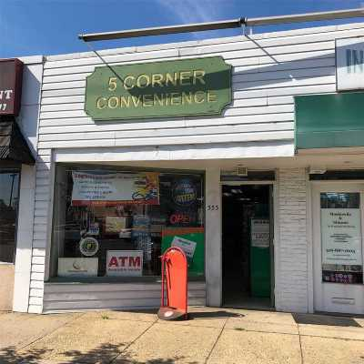 Lynbrook Commercial For Sale: 353 Merrick Rd