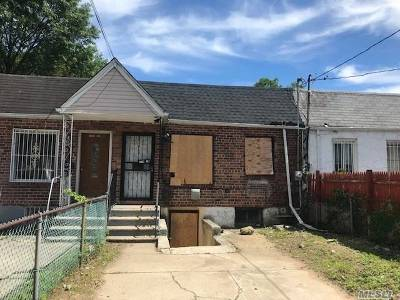Single Family Home For Sale: 174-18 110 Ave