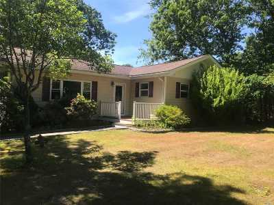 E. Quogue Single Family Home For Sale: 6 Staller Dr
