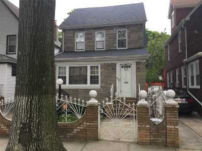Single Family Home For Sale: 116 -32 198th St