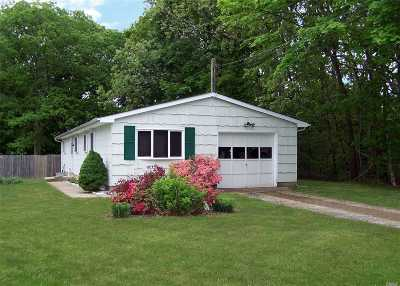 Shirley Single Family Home For Sale: 72 Oak Ave
