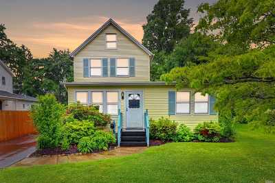 Huntington Sta Single Family Home For Sale: 246 Crombie St