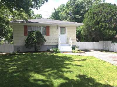 Mastic Single Family Home For Sale: 34 Gores Dr