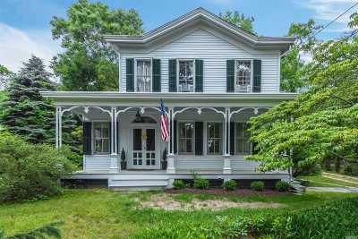 Setauket Single Family Home For Sale: 74 Old Field Rd