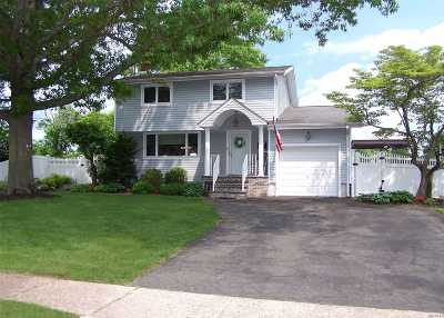 Wheatley Heights Single Family Home For Sale: 22 Homestead Dr