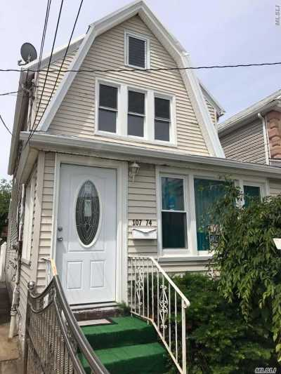 Ozone Park Multi Family Home For Sale: 107-74 101 St