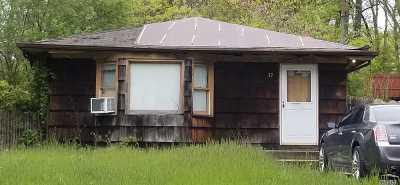 Ridge Single Family Home For Sale: 17 Iroquois Trl