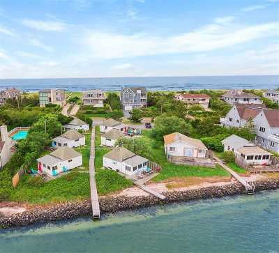 Westhampton Bch Single Family Home For Sale: 496 Dune Rd