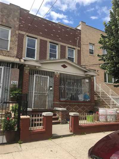 Brooklyn Multi Family Home For Sale: 758 Hendrix St