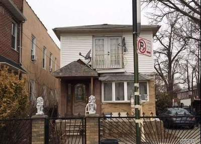 Single Family Home For Sale: 100-19 27th Ave