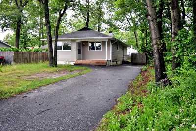 Mastic Single Family Home For Sale: 75 Eleanor Ave