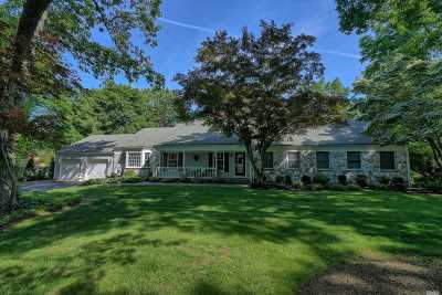 Smithtown Single Family Home For Sale: 18 Three Pond Rd