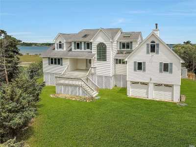 East Moriches Single Family Home For Sale: 73 Moriches Island Rd